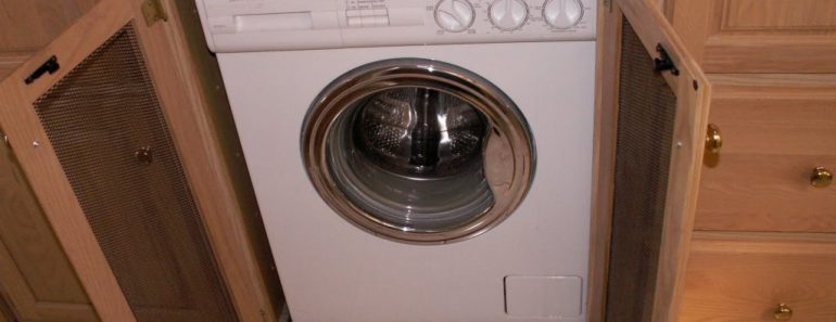 RV washer and dryer